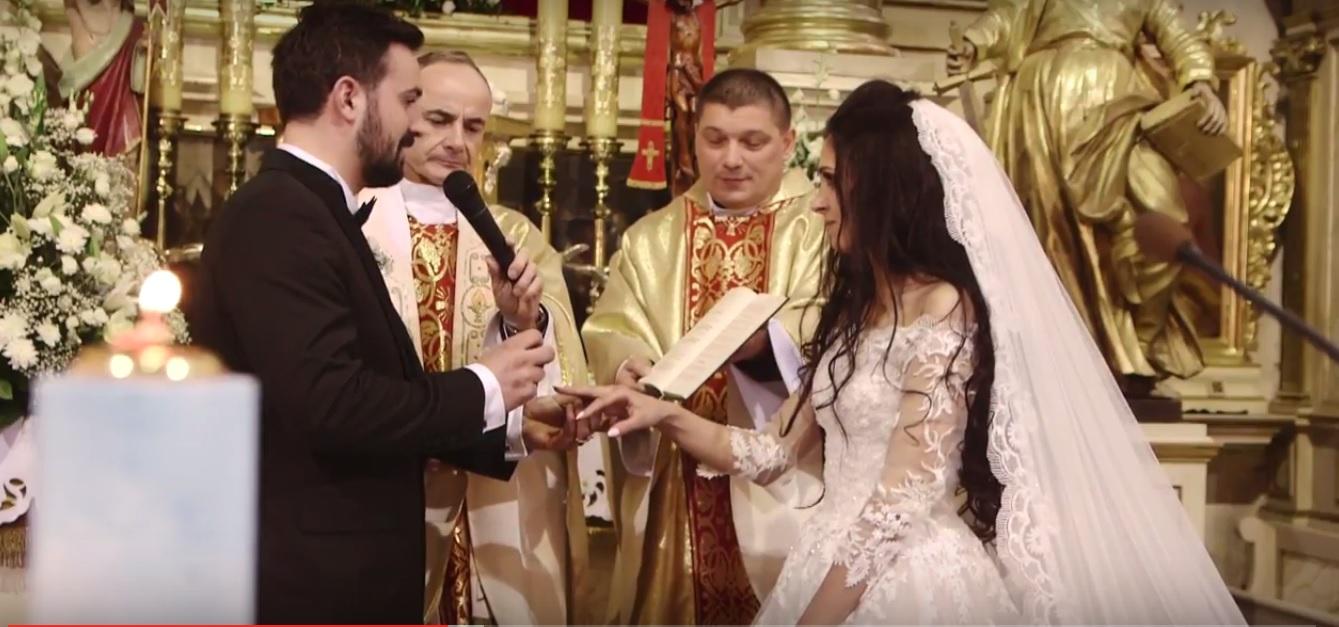 film ślubny Agaty i Adama