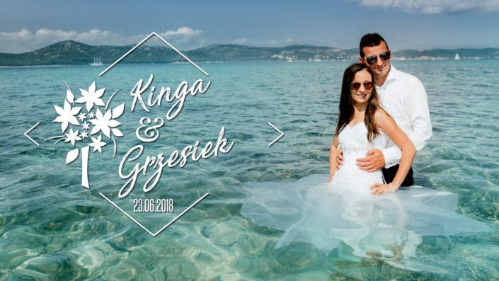 Kinga & Grzesiek – Pamiątka Ślubu (PLENER CHORWACJA)