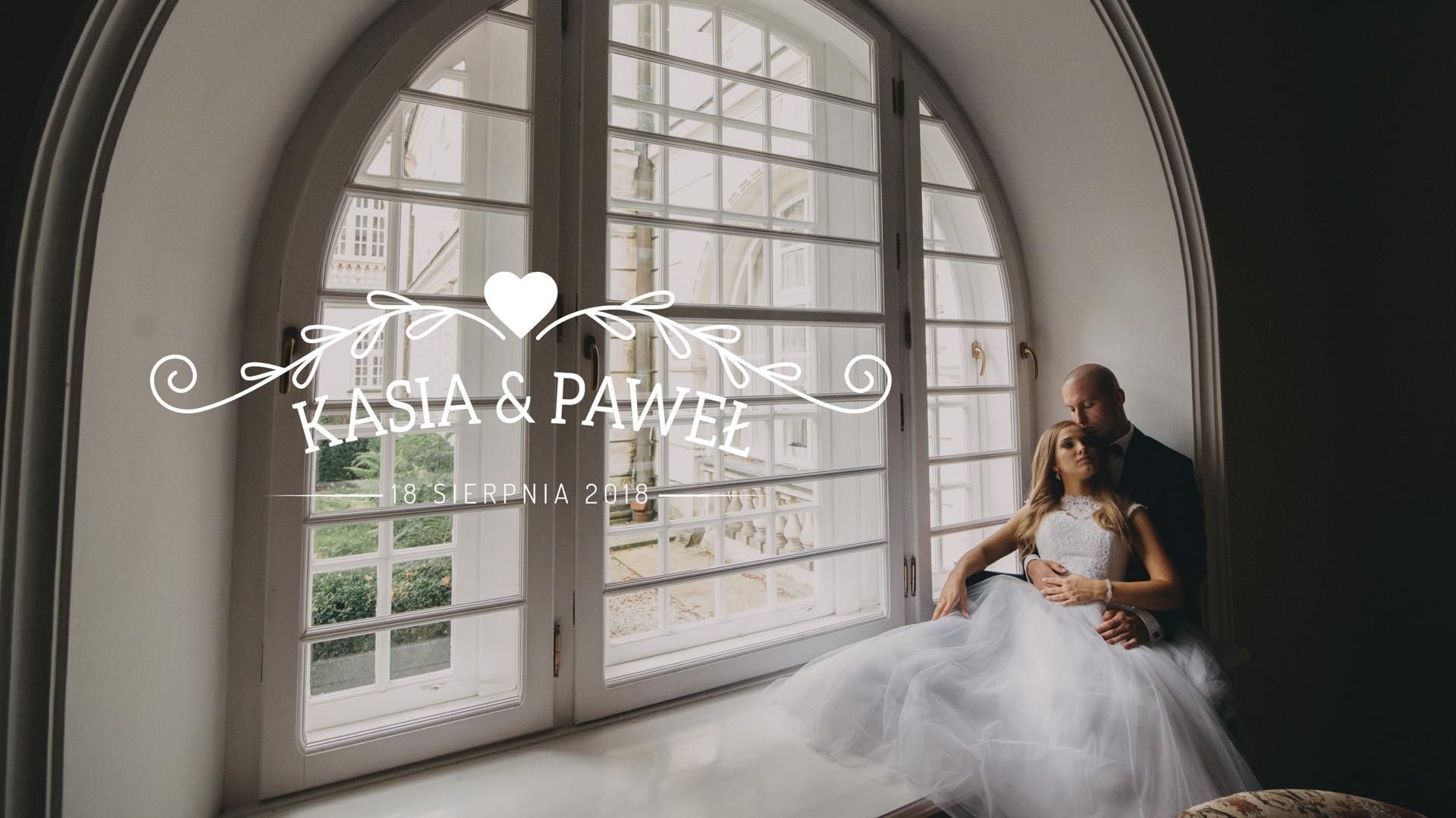 PAMIĄTKA ŚLUBU – Kasia & Paweł (4K UHD)