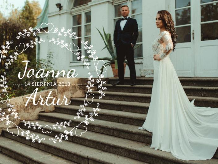 Joanna & Artur - Pamiątka Ślubu - Panorama Nowy Wiśnicz
