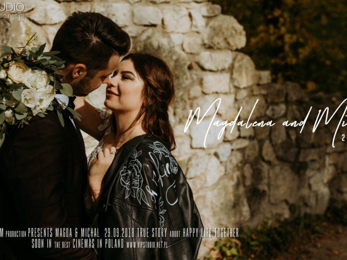 Magdalena & Michał – PAMIĄTKA ŚLUBU – Gospoda nad Rabą