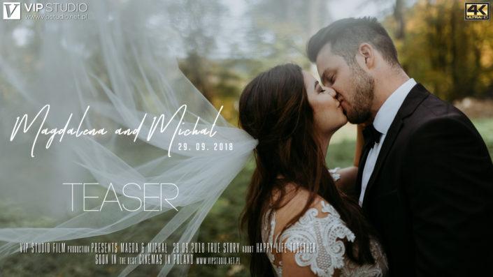 WEDDING TEASER – Magdalena & Michał (4K UHD)