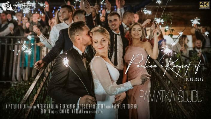 PAMIĄTKA ŚLUBU – Paulina & Krzysztof – Oberwanka Łostówka