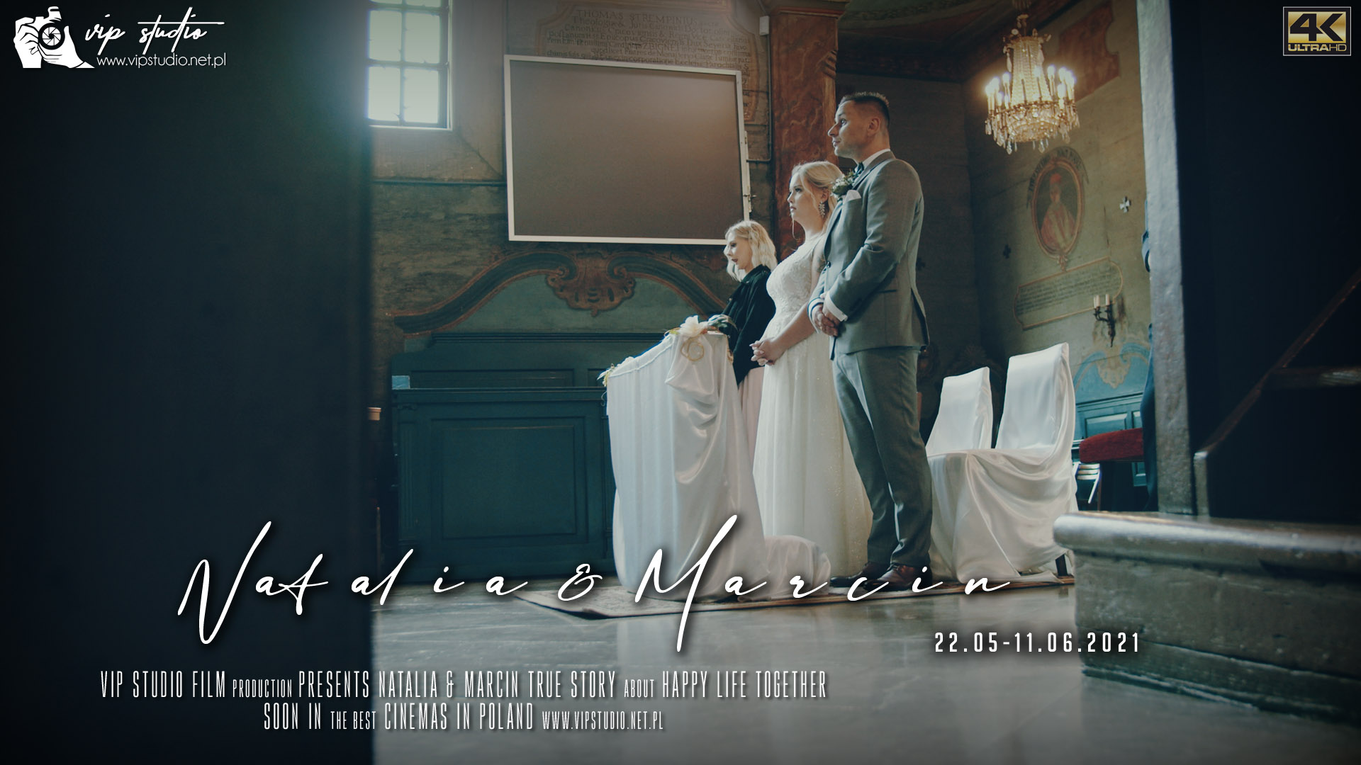 PAMIĄTKA ŚLUBU – Natalia & Marcin – 25.05/11.06.2021
